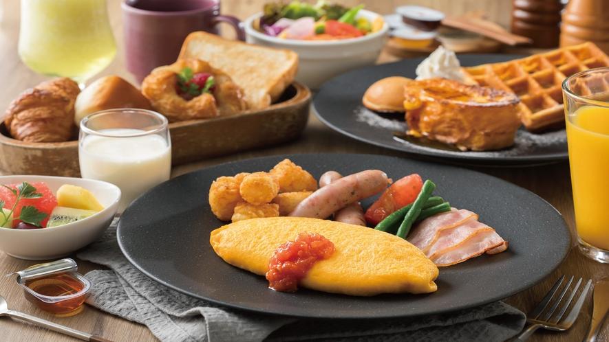 朝食セット_アメリカン