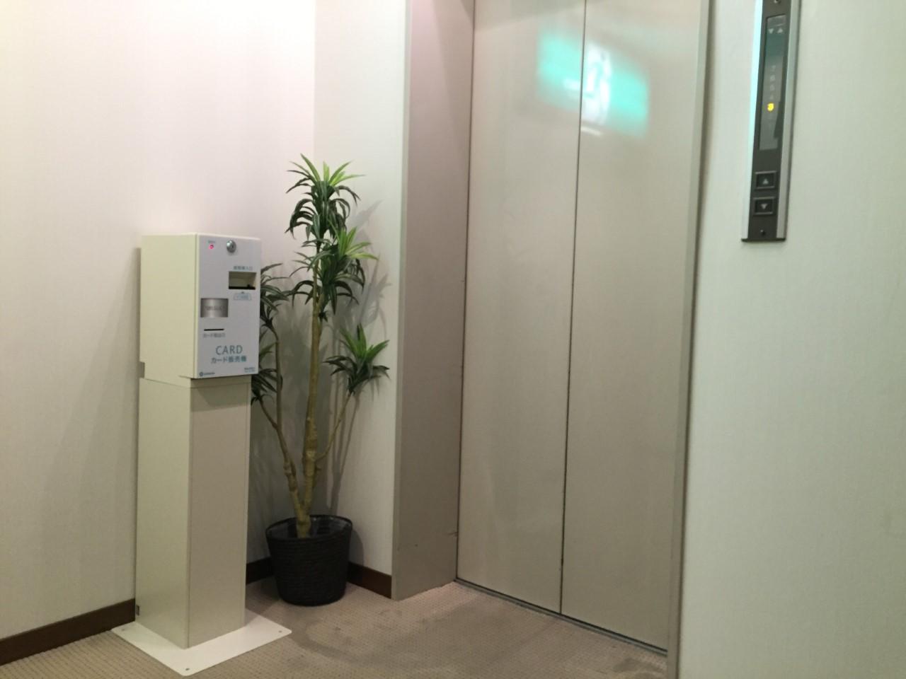 VOD券売機♪ 2階、4階、6階エレベーター前に設置しております。