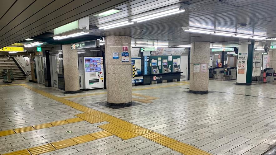 ■泉岳寺駅から当館までの道順①■