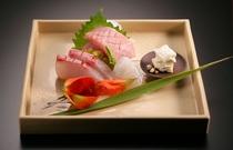 秋のお造り~駿河湾鮮魚3点盛り~