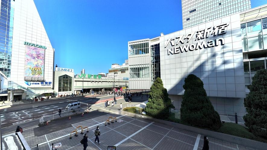 JR・各線 新宿駅およびバスタ新宿