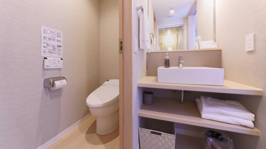 ツインルーム(24㎡、ベッド幅120cm)トイレ