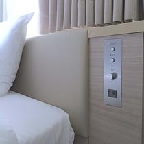 ベッド横コンセント