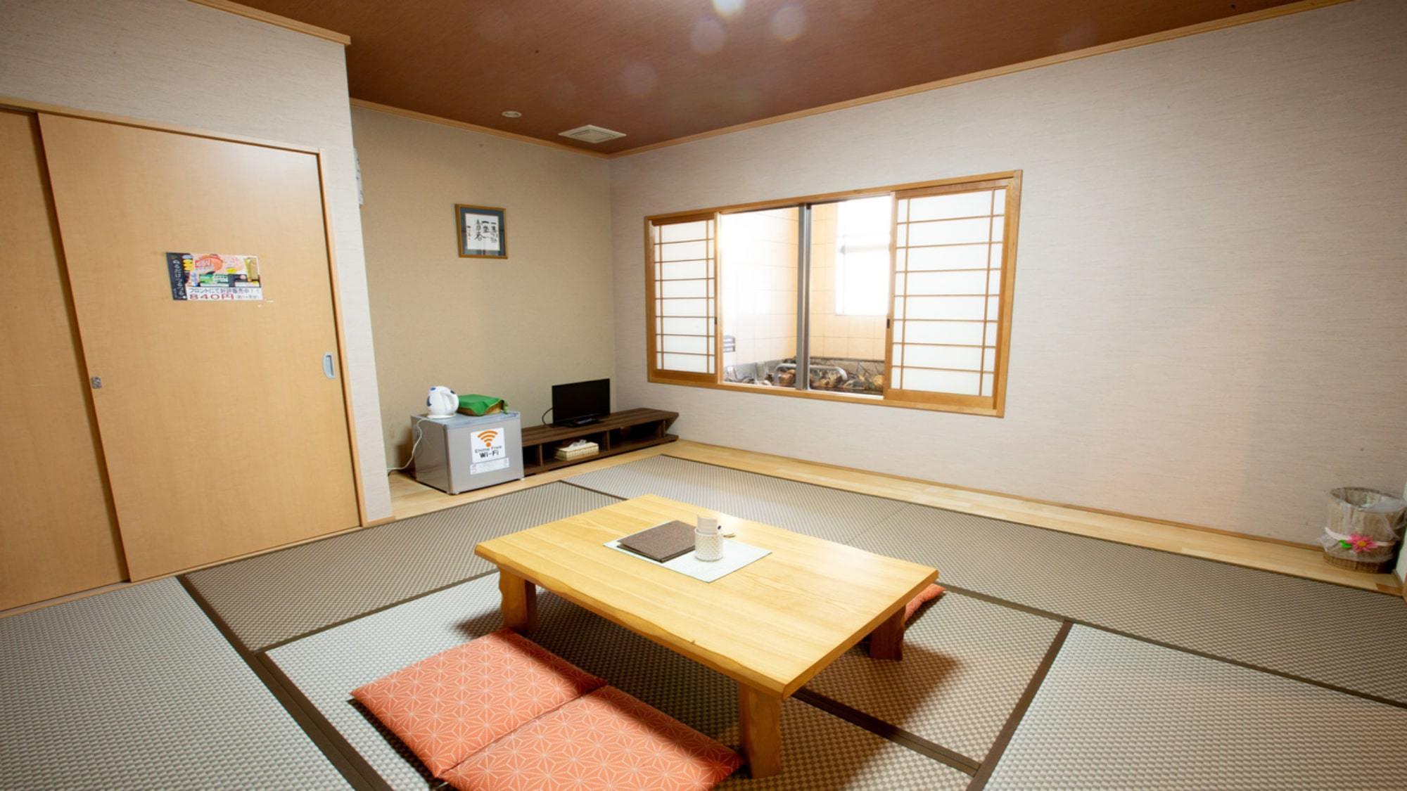 【橙/だいだい】和室8畳+専用内風呂付き(一例)