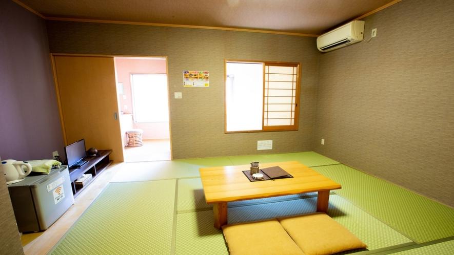 【椿/つばき】和室8畳+専用露天風呂付き(一例)