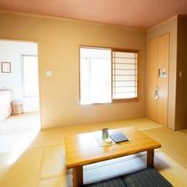 【蘭/らん】和室10畳+専用露天風呂付き(一例)