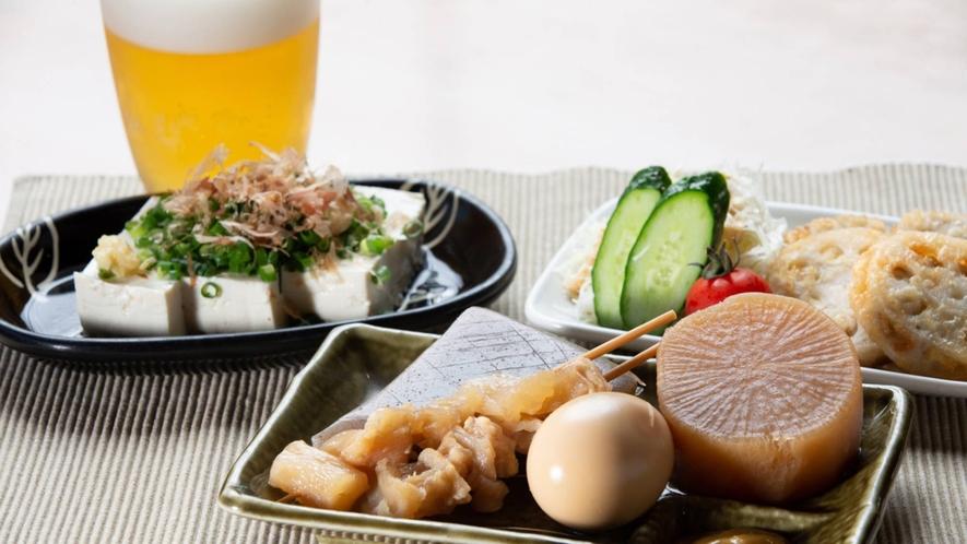 ・【おもてなし食堂】アラカルトメニュー(一例)