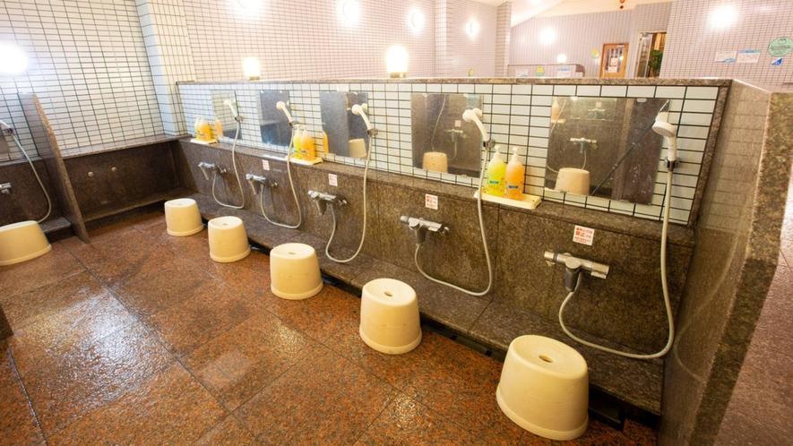 ・【いやしの本館】洗い場(一例)