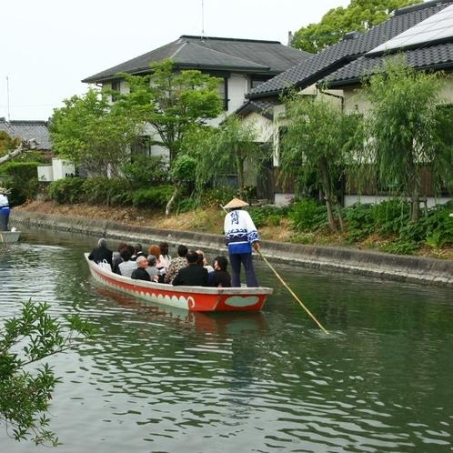 柳川川下り ホテルから車で約10分