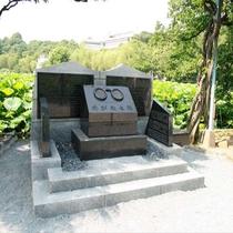 上野公園内 めがねの碑