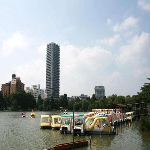 上野公園ボート場