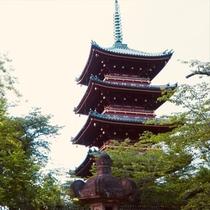 上野公園 五重塔