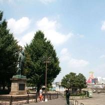 西郷隆盛像(周辺)