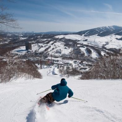 【スキーパッケージ】 リフト券・夕食・朝食付 すべての客室が2階層のメゾネットタイプ