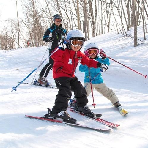雪の魔法で子供達も笑顔
