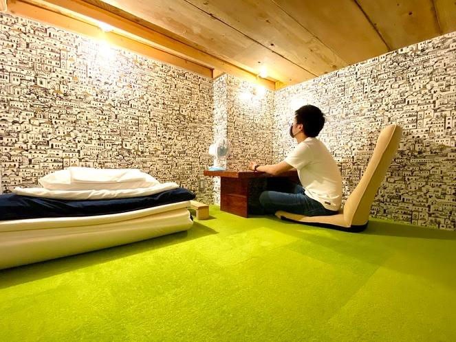 プレミアムシングルルームは広々とした部屋で過ごしたい人にお勧め