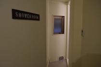 シャワールーム入り口