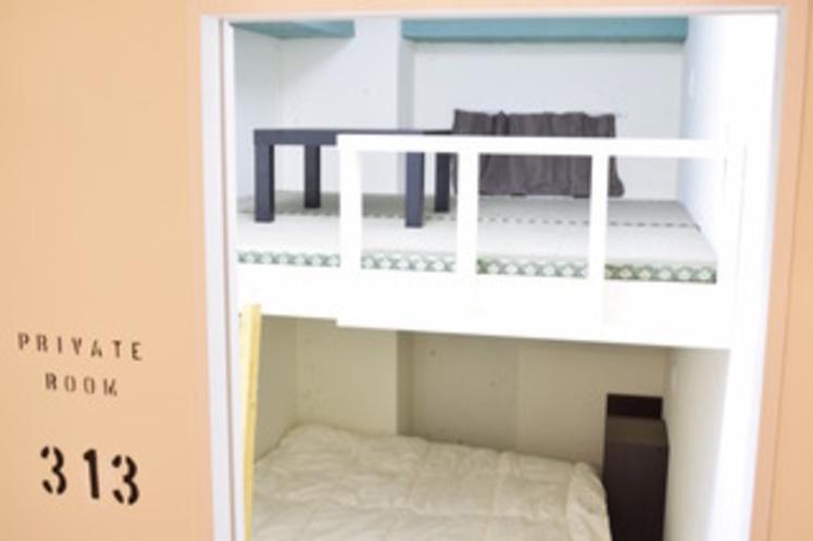 個室Wルーム(ロフト付き)