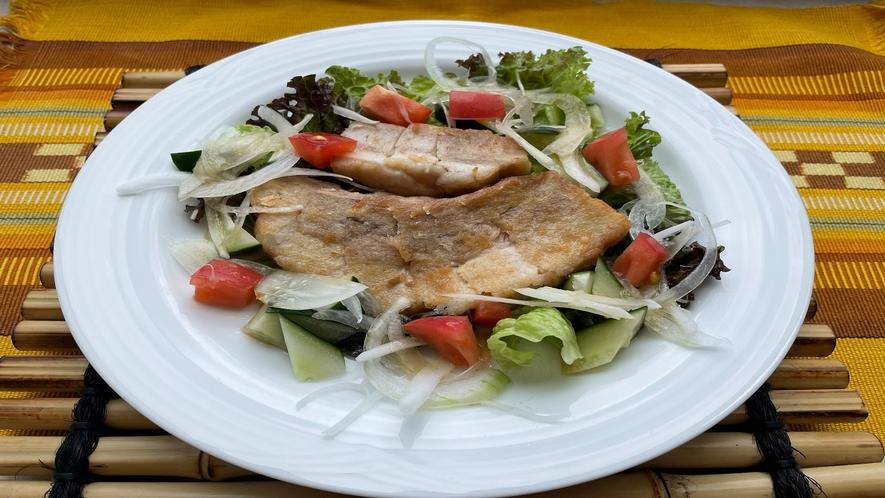 三枚肉のサラダ仕立て(イメージ)