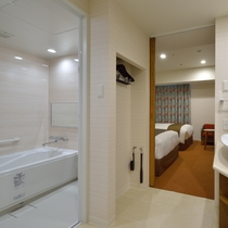 客室|女性に嬉しい!バス・トイレ独立型(画像は一例となります)