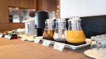 朝食ドリンクコーナー(イメージ)