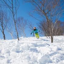 冬の風景 スキー場