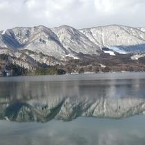 冬風景 青木湖