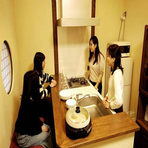 【上七軒 奥】キッチンスペース