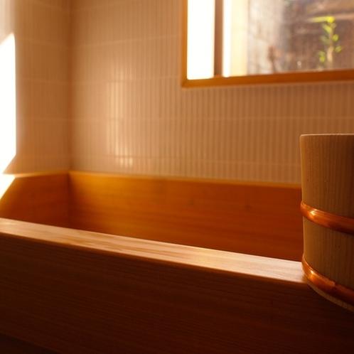 【上七軒-奥】檜風呂