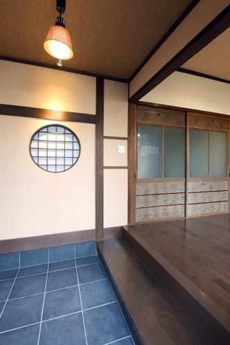 【上七軒-奥】1F玄関