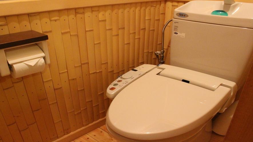 *【トイレ】快適にお過ごし頂けるよう、各お部屋にはシャワートイレを完備しております。