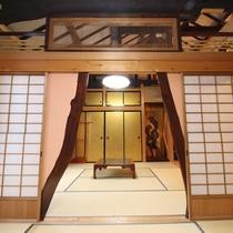 *【不老長寿の間】当館の内装は全て宮大工さんの手によるものです。こだわりの内装もお楽しみ下さい。