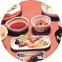 山菜料理例