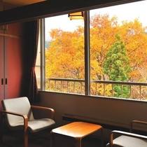本館和室10畳・秋