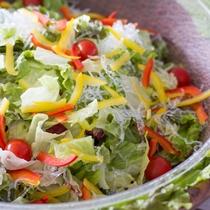 バイキング料理イメージ 彩り野菜のサラダ