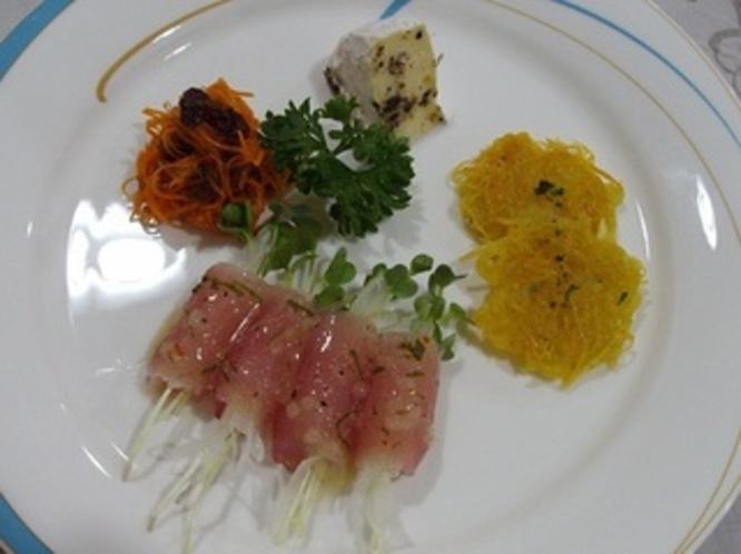 前菜4種類