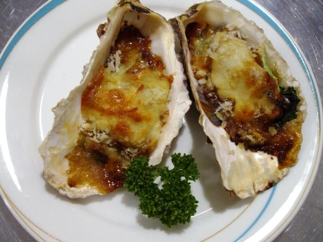 牡蠣のグリル
