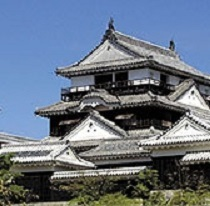 松山城(ホテルよりお車で約18分)