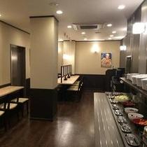 【SHIDAKA】朝食・夕食会場(朝食7:00~9:30 夕食18:00~23:00)