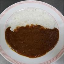 夕食(一例)カレーライス