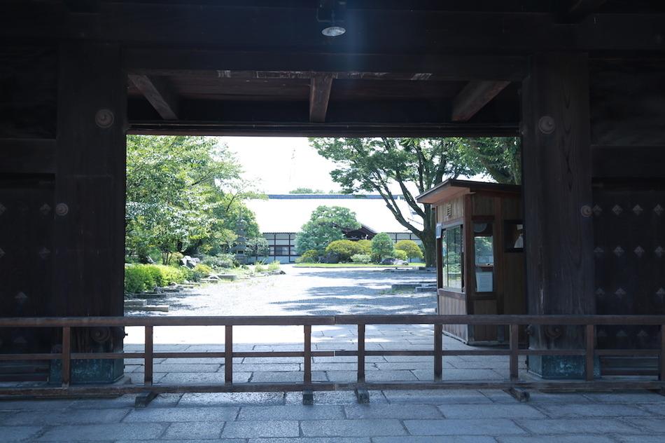 近隣風景・東本願寺