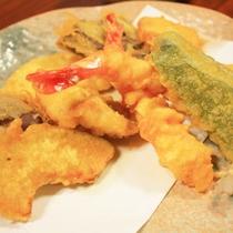 <夕食一例>天ぷら