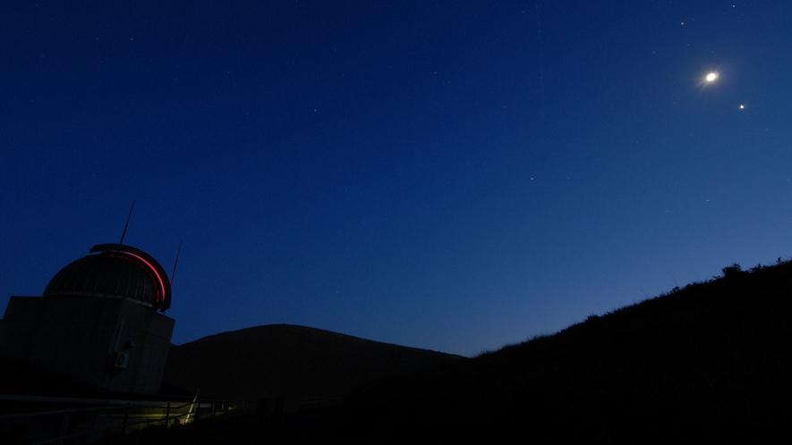 *【鬼岳天文台】空気が澄みきった五島で満点の星空を見ませんか?