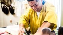 *【お料理イメージ】島の新鮮な海の幸・山の幸をふんだんに使った「漁師めし」を心を込めてお造りします。