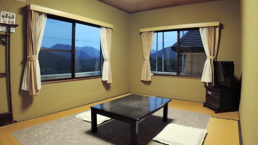 *【和室6畳】眺望はおまかせとなります。