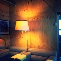 雰囲気のある談話室