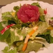 ある日の新鮮野菜サラダ