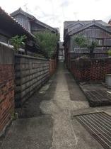 小値賀島の路地
