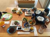 島宿御縁の夕食