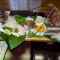 お魚のお造り